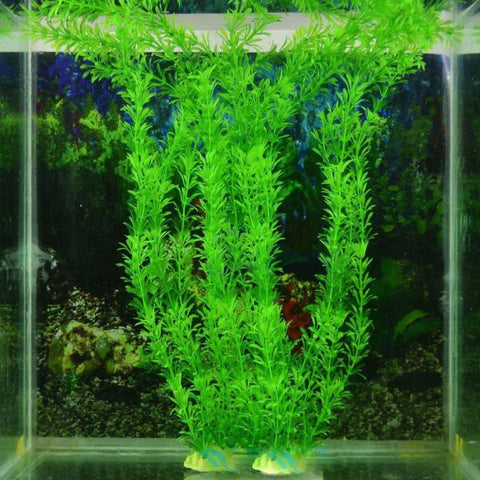 32cm Underwater Fish Aquarium Plants  Ornaments Aquarium Fish Tank Plant Green Water Grass Decor Aquarium Decoration