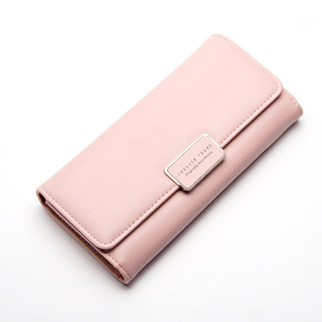 Luxury Designer Simple Wallets Female Purses