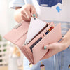 Image of Luxury Designer Simple Wallets Female Purses