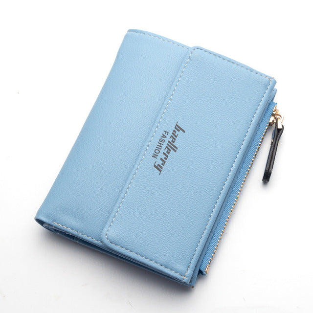 Hot Fashion Women's Purse Thin Zipper Wallet Ladies
