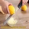 Image of Stainless Steel Lemon Zester Cheese Garter