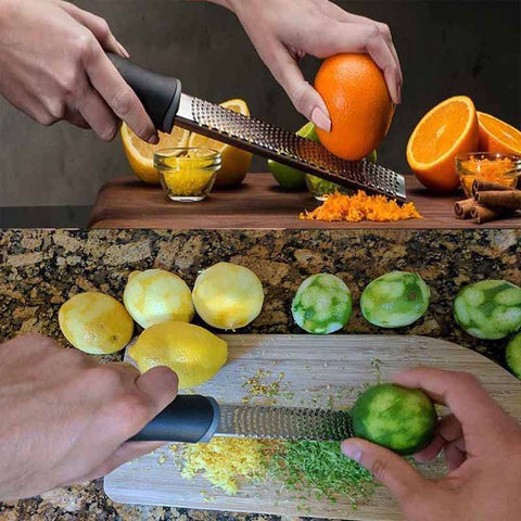 Stainless Steel Lemon Zester Cheese Garter