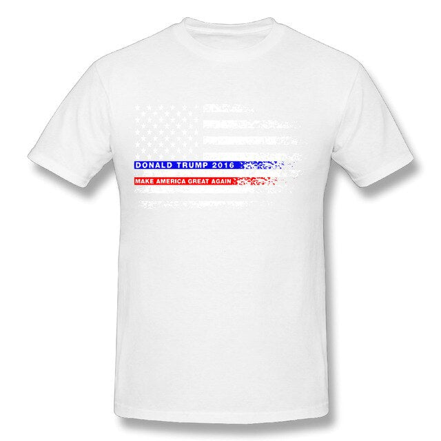 Funky T-Shirt Donald Trump Make America
