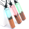 Image of LNRRABC Knitting Rope Resin 7 Styles Unique Sweater Long 1PC New Wood Men Drop Shipping Gifts Adjustable Pendant Necklaces