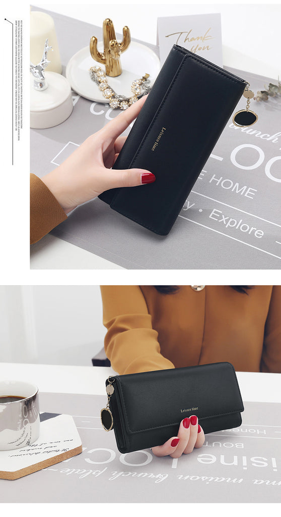 New Fashion Women Wallets Long Style