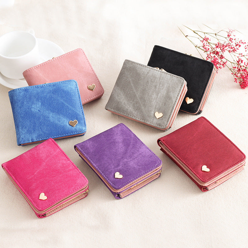 2018 New Woman Wallet Small Hasp Coin Purse For Luxury Brand