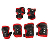 Image of 7 Pieces Kids Roller Skating Cycling Helmet Knee Elbow Pad Wrist Guard Gear Sets for Camping Kayaking Boating Surf Protection