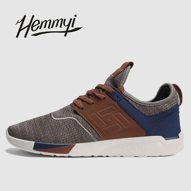 hemmyi new 2018 Spring Summer Men Sneakers Shoes Breathable Wear-resistant Casual Light mesh Shoes masculino adulto