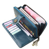 Image of 2018 New Hot Sale Women Clutch Split Leather Wallets