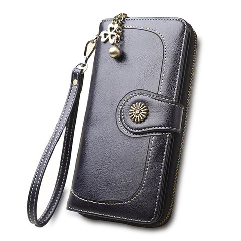 2018 New Hot Sale Women Clutch Split Leather Wallets