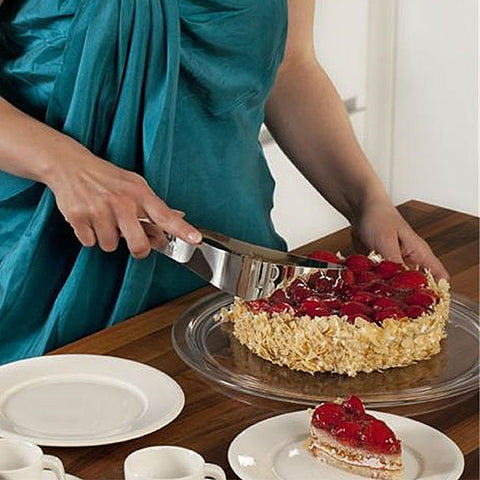 Perfect Presentation Cake and Pie Server Stainless Steel
