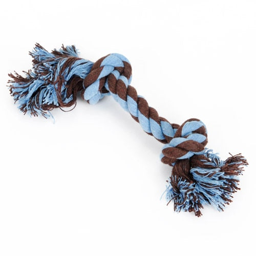 Hoopet Cotton Dog Rope Toy Knot Puppy Chew Teething Toys