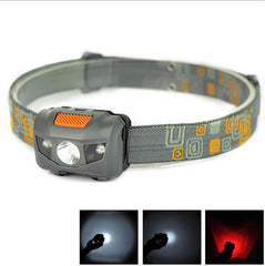 Head Lamp Flashlight 3 * AAA Energy Saving Light for Outdoor Lighting Hiking