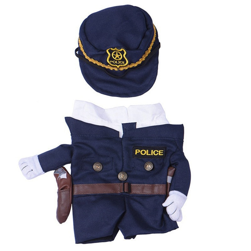 Purr Officer Cat Policeman Costume