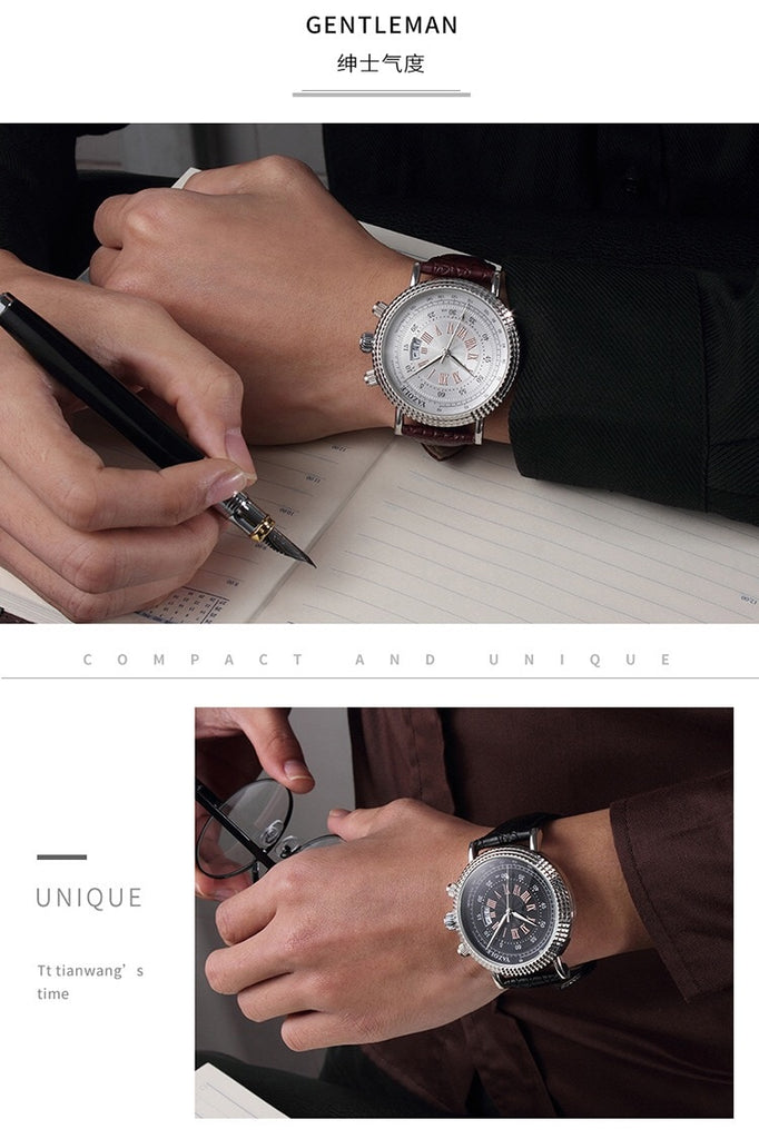 Men's Watch Gifts Set Pen Wallet Men Watches For Boyfriend Gift