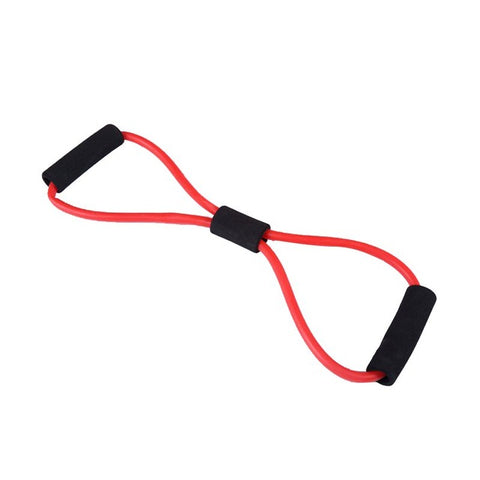 8 Word Type Resistance Band Chest Fitness Yoga Pull Rope Tube Rubber Muscle Training Stretch Crossfit Equipment Elastic Band