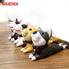 Image of Cute Door Stops Cartoon Creative Silicone Door Stopper Holder Safety Toys For Children Baby Home Furniture Hardware
