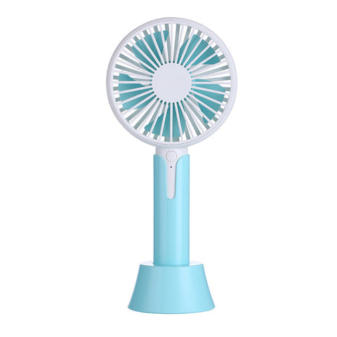 Home Travel Use Mini Fans Portable USB Fan Rechargeable Handheld Desktop Fan 3 Speed Controlling Cooling Fan with Base