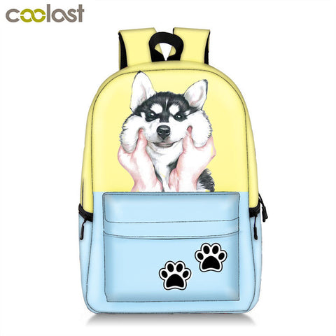 Kawaii Puppy Dogs Backpack