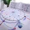 Image of 3D Dream Catcher Feather Duvet Cover Set With Pillowcase Bohemian Bedding Set Single Double Queen King 2/3Pcs No Sheet