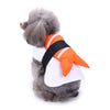 Image of Funny Halloween Clothing For Dogs Winter Dog Clothes Sushi Cosplay