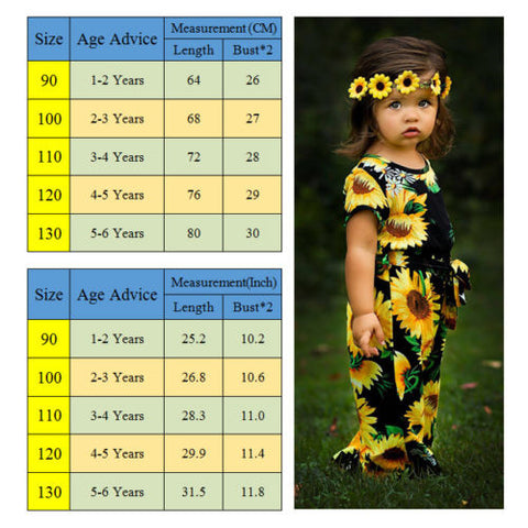 Sansa Sunflower Jumpsuit