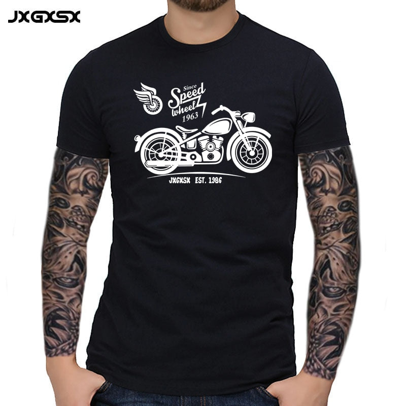 T-Shirt Short Sleeve Motorcycle Tops Tees Casual Streetwear Men funny Tshirt Custom 3D Print Men T Shirt