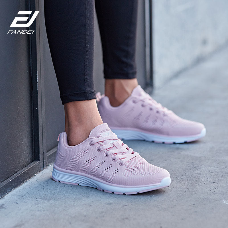 Women Running Shoes Sneakers Breathable Mesh Soft Light Weight sneaker Woman Sport Shoes For Female Walking Jogging Shoes