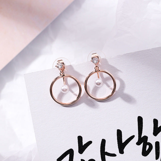 What's Wrong with Secretary Kim Mi-so Earrings Park Min Young Same S925 Sterling Silver Rings Earrings Stud Pendant Cosplay New