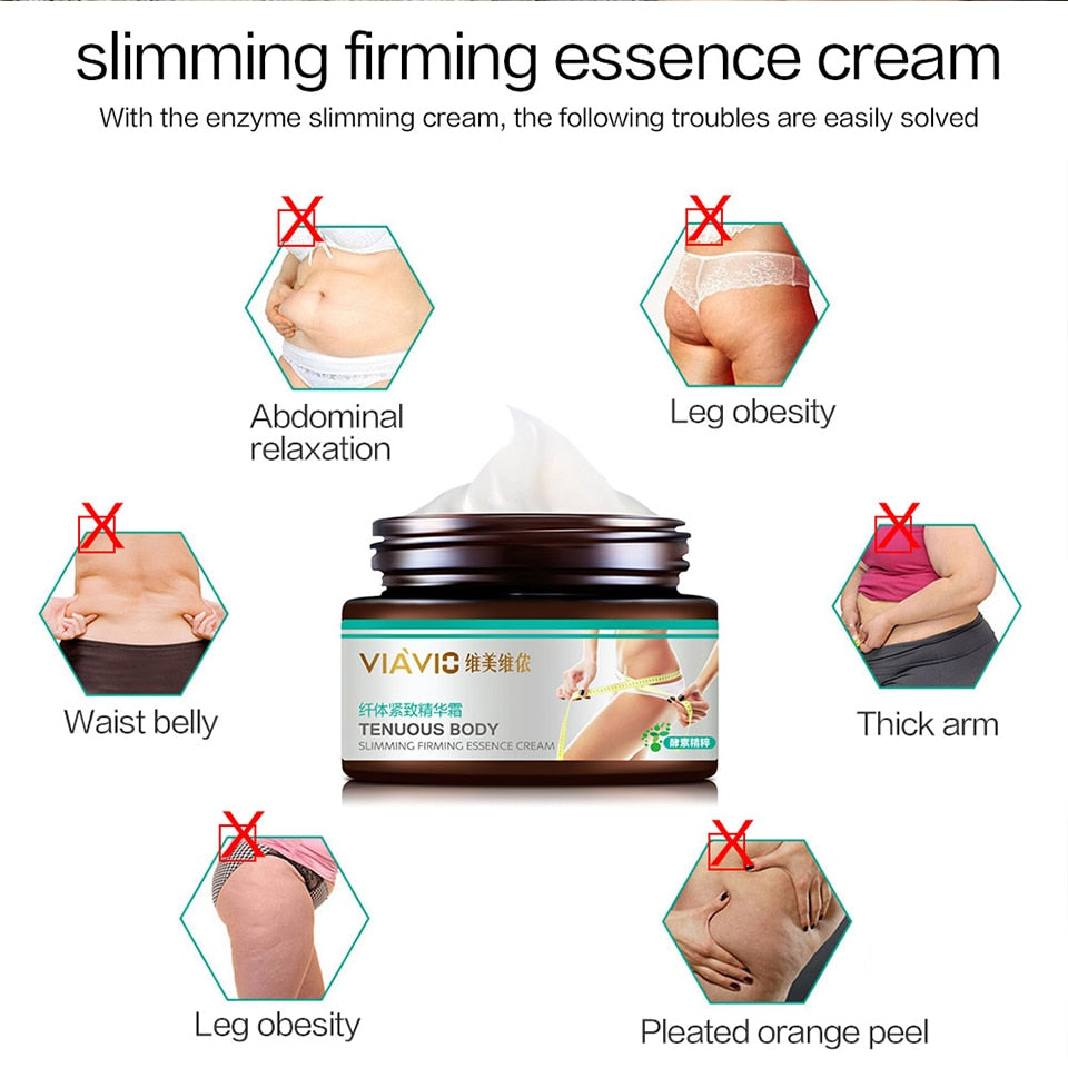 Beauty Skin Care Anti Cellulite Fat Burner Gel Slimming Cream Massage Hot Anti-Cellulite Body Massager Weight Loss Cream
