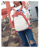 Image of Backpack Canvas Cute Dog & Fox