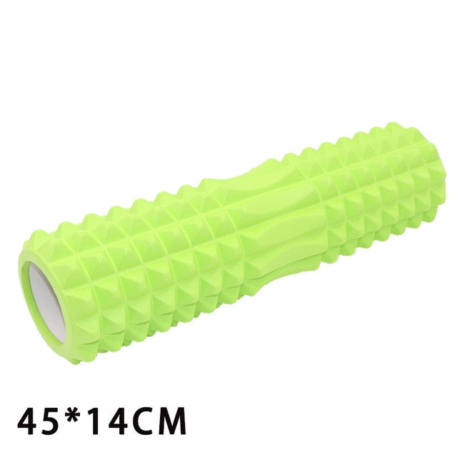 Yoga Column Roller Gym Roller blocks Foam Fitness Yoga Blocks Massage Grid Trigger Circles Relaxation Yoga Pilates Therapy 45*14