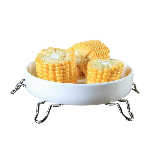 2019 Dish Steamer Cookware Steaming Food Basket Mesh Stainless