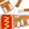 Image of Hot Dog Pets Puppy Halloween Costume Clothes Mustard