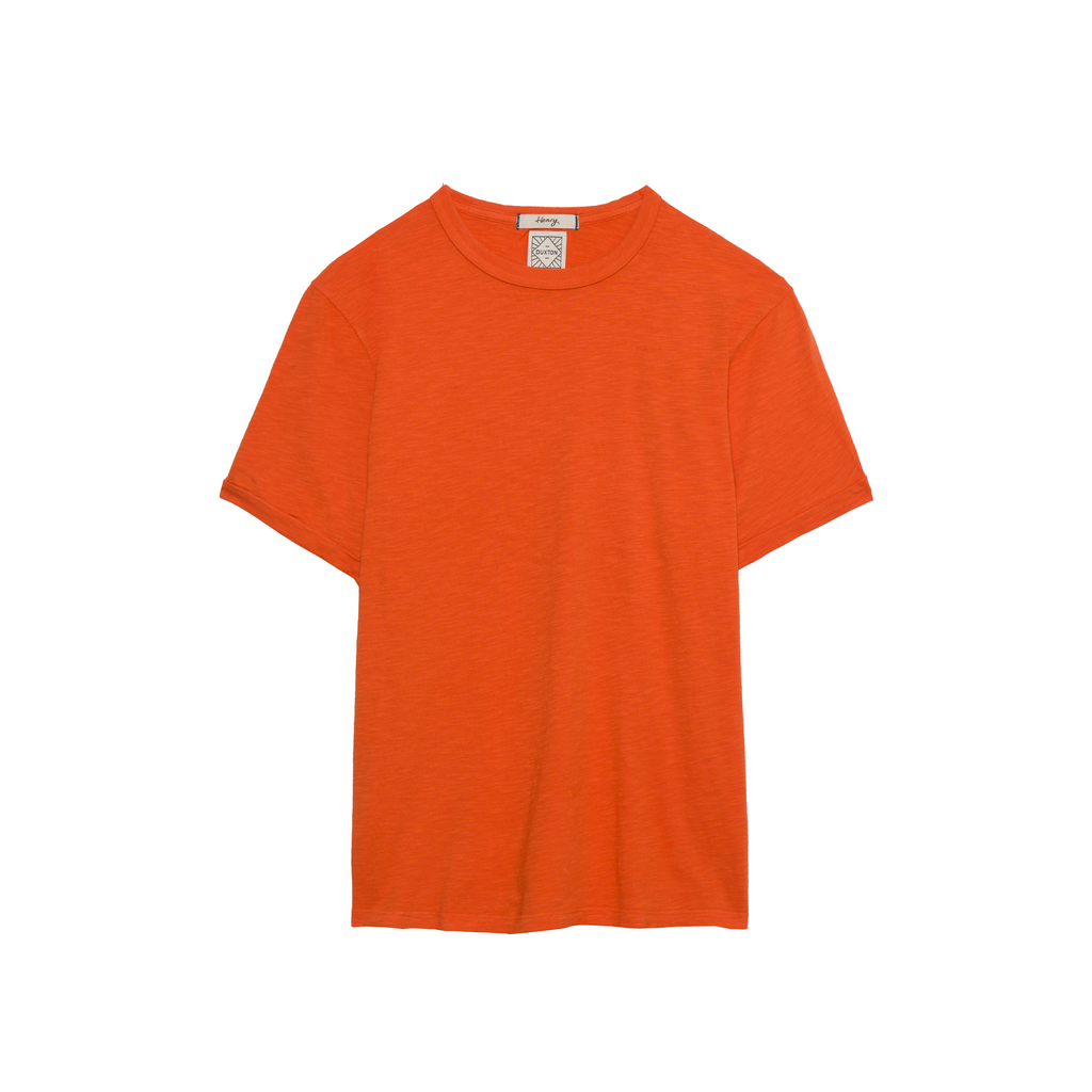 DUXTON Men's Crew Neck Tee - Maple