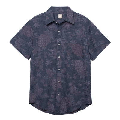 DUXTON | Aloha Shirt Button Down  - Faded Pineapple