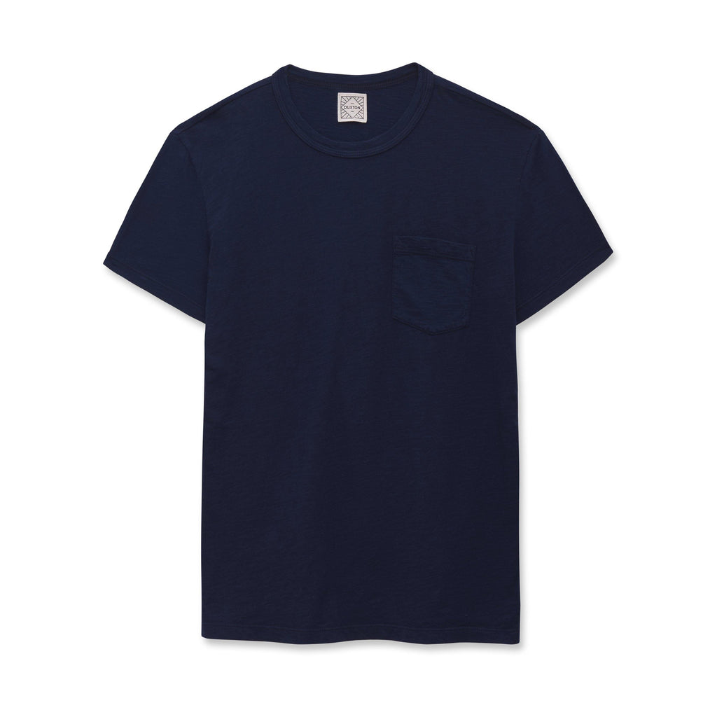 DUXTON | Pocket Tee - Navy