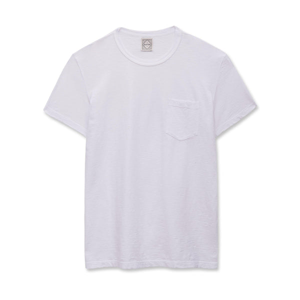 DUXTON | Pocket Tee - White
