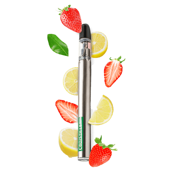 CBD Vape Pen | 200mg Strawberry Lemonade
