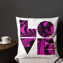 Load image into Gallery viewer, Love is the Word Pillow