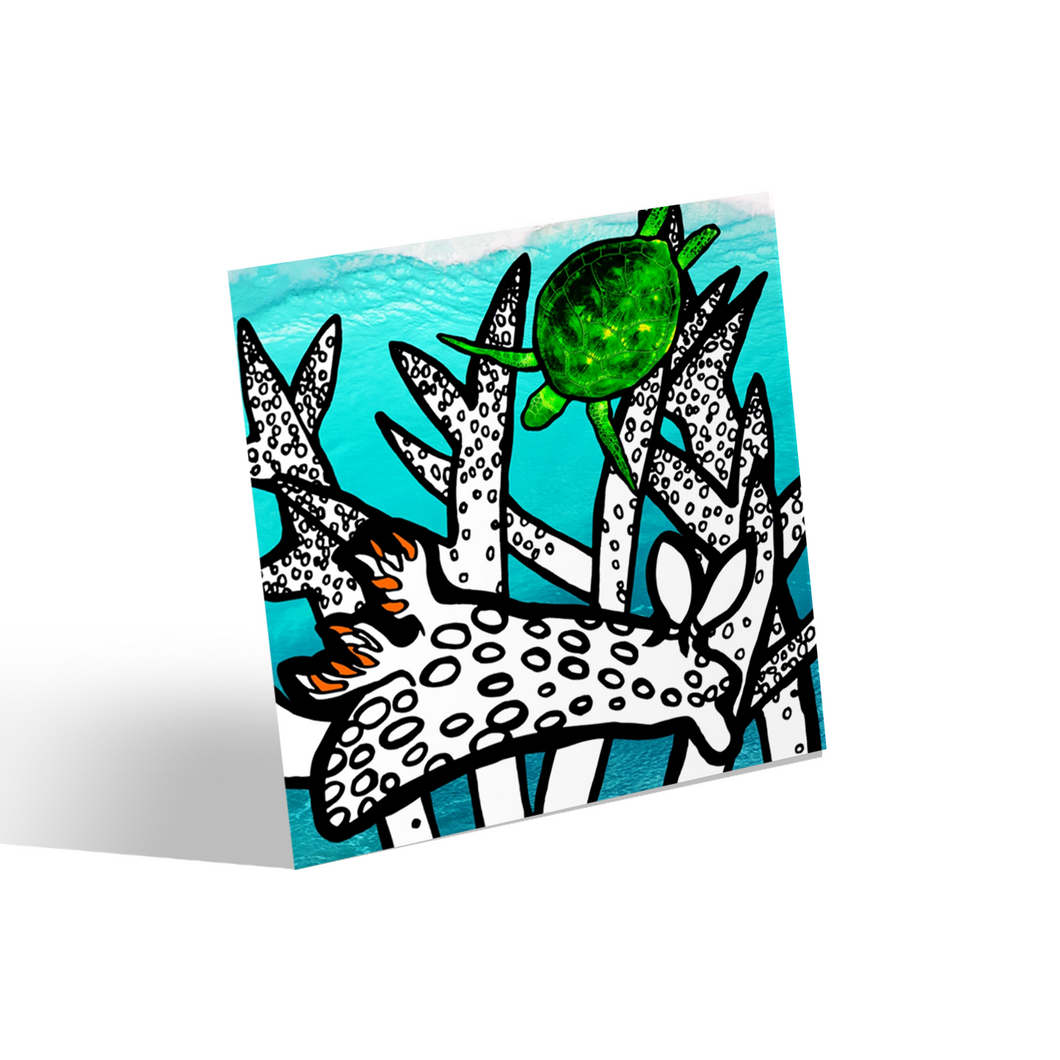 Coral Reef Canvas Mini