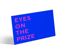 Load image into Gallery viewer, Affirmation: Eyes On The Prize Canvas Mini