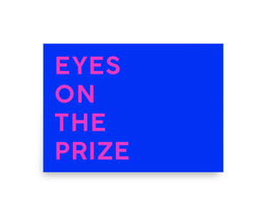 Affirmation: Eyes On The Prize Canvas Mini