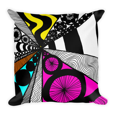 Supercharged Love Mandala Premium Pillow