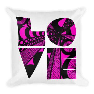 Love is the Word Pillow