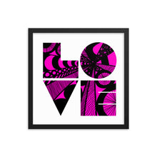 Load image into Gallery viewer, Love is the Word Print
