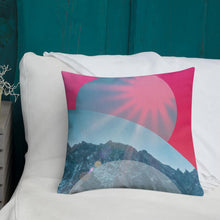 Load image into Gallery viewer, Hot Pink Love Pillow