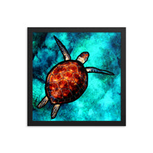 Load image into Gallery viewer, Sea Turtle Totem Print