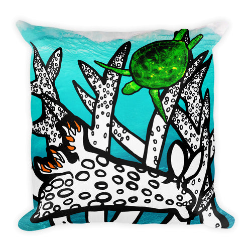 Coral Reef Pillow