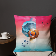 Load image into Gallery viewer, Sunrise Love Mandala Pillow